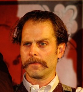 John Wright as Tiny Two-Bits in the 2013 production of The Medicine Showdown