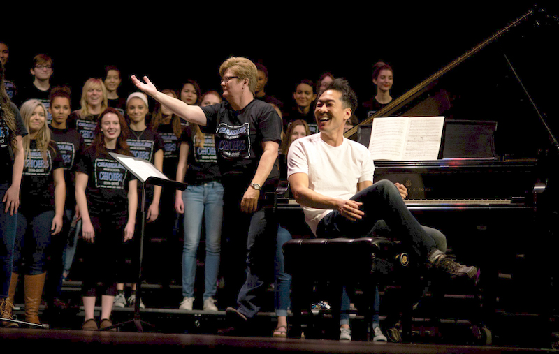 Alpin and the Chandler High School Choir (Chandler, Arizona)